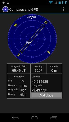 Boussole et GPS