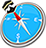 icon com.quranreading.qibladirection 8.0