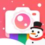 icon Bloom Camera, Selfie, Beauty Filter, Funny Sticker