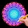 icon Doodle Master - Glow Art