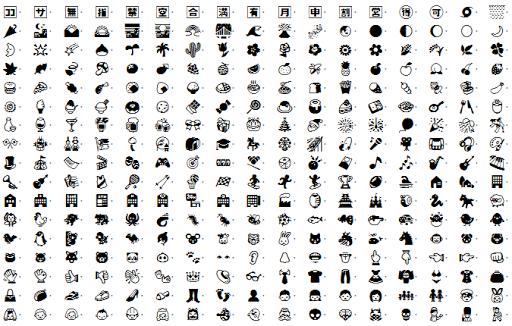Emoji police pour galaxy S3 S2