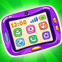 icon Learning Tablet: Coloring Pictures and Baby Games