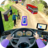 icon Modern Bus Drive Parking 3D 2.50