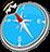 icon com.quranreading.qibladirection 5.4