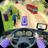 icon Modern Bus Drive Parking 3D 2.5