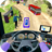 icon Modern Bus Drive Parking 3D 2.54