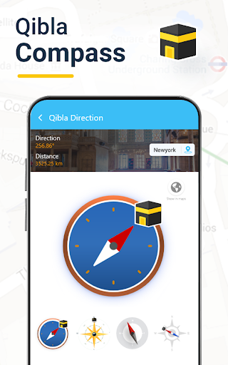 Qibla Connect® Trouver la direction